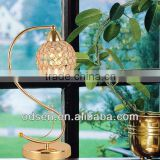 European hotel crystal ball table light, desk lamp for decoration