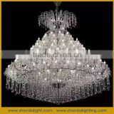 Large crystal chandelier ceiling light hotel lamp, crystal Candle chandelier, wedding decoration chandelier