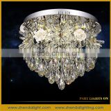 60% discount clear stocks modern led crystal pendant lamp/Household chandelier light