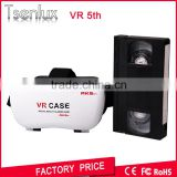 Magicbox VR Box V5 Play Virtual Reality Helmet 3D Glasses Google Movie Game Cardboard Film Oculus Rift