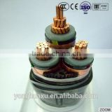 Low Price China manufacture rated voltage 35 kv cross-linked polyethylene insulated power cable