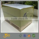 customize design paper cube,sticky note with wooden pallet