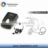 Professional simple call center headset headphone telephone digital amplifier CTA-200