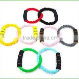 Premium Power Resistance Full Body Toning Fitness Circle Pilates Ring with sleeve