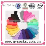 Custom colourful unisex comfortable ankle sock with cotton