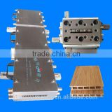 pvc floor moldings/wpc flooring extruder process equipments/laminate flooring manufacturers china