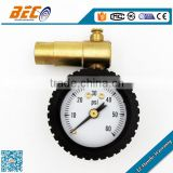 90 degree brass connector cool tire air pressure gauge
