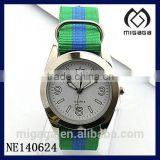 fashion fabric strap quartz sporty watches brazil*sporty watches fabric strap for Brazil market