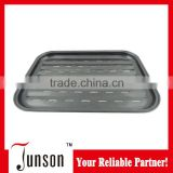 Top Quality Environmental Friendly Enamel Coated Cast Iron Grill Pan