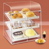 acrylic bread food display box