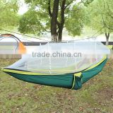 Heavy load Strong Nylon 210T mesh hammock with ripstop mosquito netting                                                                         Quality Choice