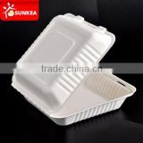 Disposable paper tableware eco-friendly pulp food container                                                                         Quality Choice