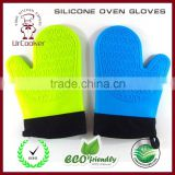 Silicone Oven Gloves silicone heat resistant gloves high temperature silicone rubber gloves cotton hand gloves