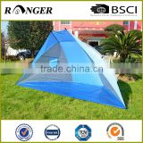 Customizable sun shade cabana beach shelter tarp beach tent