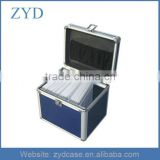 Portable100 CDs cd dvd aluminum storage case, ZYD-CD001