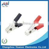 100A car battery charging alligator clip with PVC boot