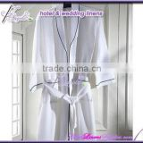 hotel ladies bathrobes, waffle ladies bath robes, cheap spa robes in waffle, white robes