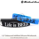 adjustable silicone rubber band | adjustable colorful silicone rubber bracelet | adjustable silicone rubber arm band