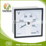 Manufacturer Cheap Price DG-V96 Direct Input AC Voltmeter ,Voltage Meter Analog Panel Meter 96*96 /