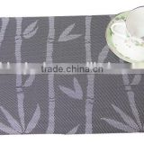 Bamboo Jacquard PVC Table Placemats