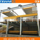 multi levels simple lifting sliding vertical parking system