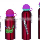 Eco-friendly 18/8 wall stainless steel sport bottle for water with heat protection Silica gel