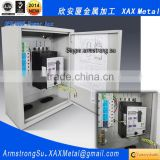 XAX15DB Non standard custom made free standing floor mesh double two doors steel ip55 control box