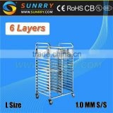 Trolley Move/Stainless Steel Food Trolley/Meat Trolley (SY-TR26A SUNRRY)