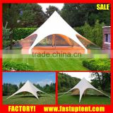 650gsm pvc fabric high peak stretch star shade party tent                                                                         Quality Choice
