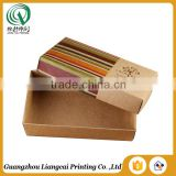 Competitive price bespoke personal logo offset printing kraft soap boxes kraft box                                                                                                         Supplier's Choice