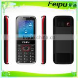 2.4 inch cheap feature GSM 800/850/1800/1900 zinc framwork dual sim feature mobile phone with big battery/bluetooth/bluetooth/FM