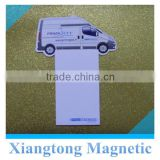 Fridge Magnetic Notepad Memo with Car Logo for Kids /Any Customized Refrigerator Magnetic Notepad