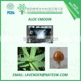 China Manufacturer Aloeemodin 98%/Aloe vera extract/Aloe vera gel/Anti-bactericidal palnt extract CAS No.: 481-72-1