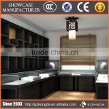Customized wooden furniture equipment for jewelry stores