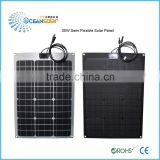 factory sale directly bending solar panel bendable solar panel long lifespan solar flexible solar panel car battery charging