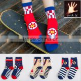 Cotton socks teen girl socks Sun pattern colorful Winter or Autumn socks