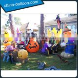 Halloween inflatable costume /Halloween pumpkin walking costume complete sets for decorations/party