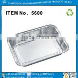 foil containers disposable roasting Aluminum Foil Take Out Pan with dome Lid Disposable 5600