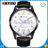 CURREN/CW031Hot 5 Colors Men's Business Watches Top Brand Luxury Leather Wristwatches Relogio Men Curren