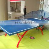 cheap outdoor waterproof SMC rainbow table tennis table for ping pong table entertainment game
