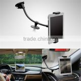 2016 10 inch Universal 2 in 1 Car Windshield Mount Holder Stand Mobile Phone For iphone 5 5S 6 6S Plus For Samsung Galaxy S5 S6
