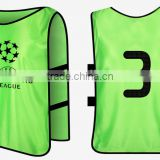 Unisex customized football training vest reflection adult&kid soccer bibs vest