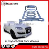 ABT Style Q7 Body Kit Front Lip Spoiler fit for Q7 car 06-09 Year PU Material