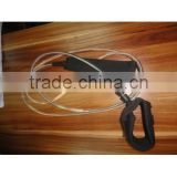 straight surfboard leash/leg rope for surfboard colorful look for hot selling surf wax~~!
