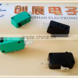 M77 KW7-15 No lever micro switch China electrical ( 125VAC 250VAC ) push to off 2 pin micro switch
