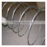 pvc coated / galvanized barded wire razor barbed wire factory with best price and quality