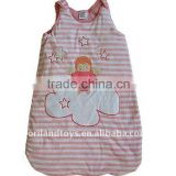 Embroider bamboo baby sleeping sack