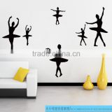 Personalized Ballerina Ballet Dancer Removable Wall Sticker Vinyl Decal for Girls Room Decor 121