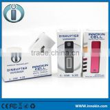 usb rechargeable electronic cigarette lighter Innokin Disrupter 50w & 2000mAh InnoCell