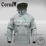 Best selling gray waterproof absorbent hooded man baseball jacket hoodie